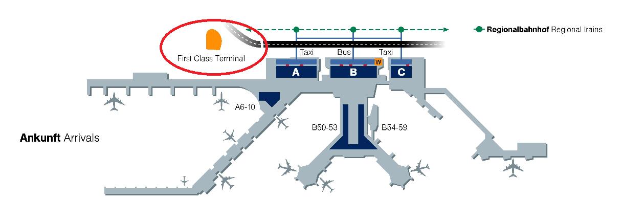 ルフトハンザファーストクラスターミナル