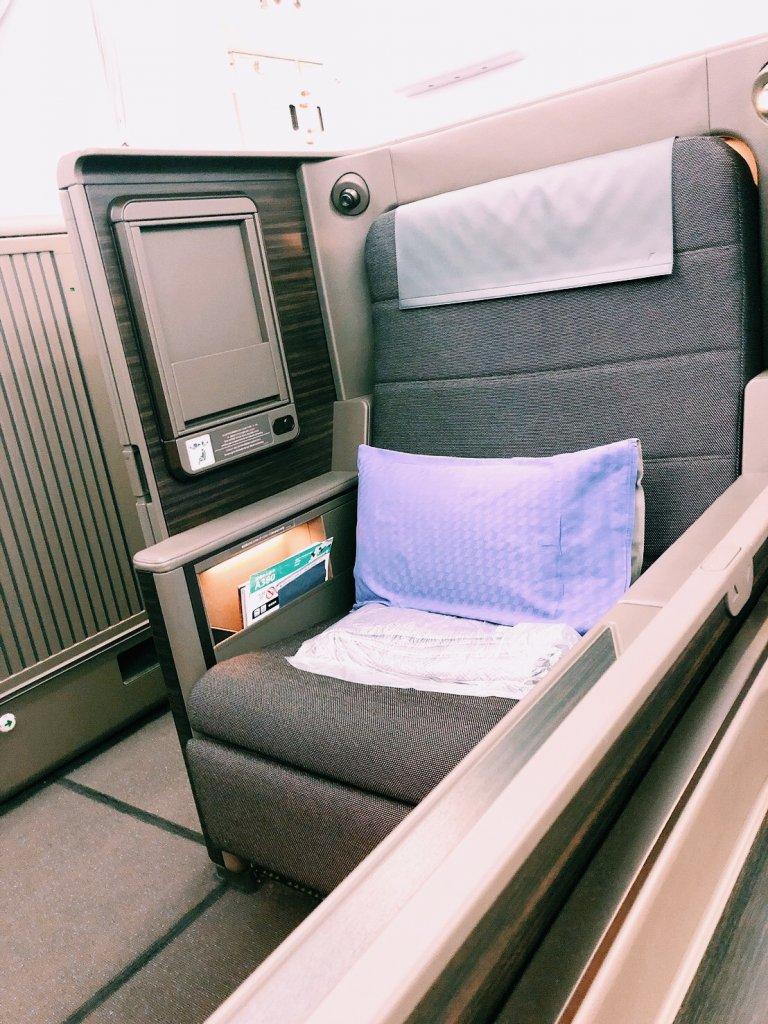 ANA A380ファーストクラス