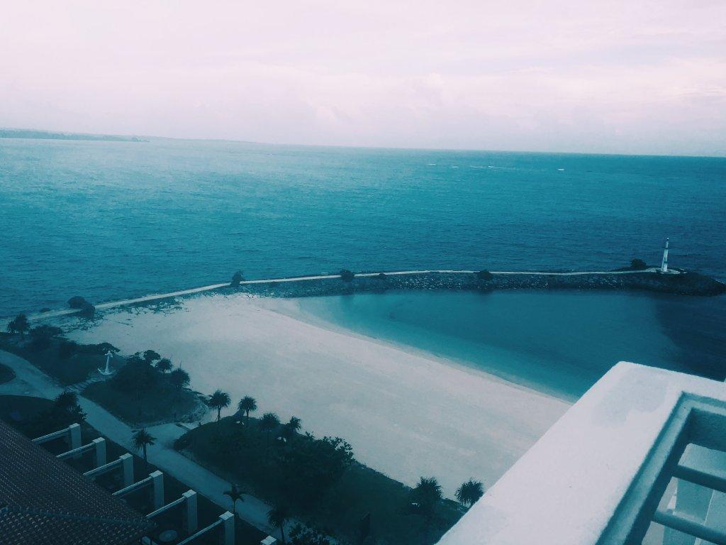 シェラトン沖縄サンマリーナリゾートロオーシャンメゾネット