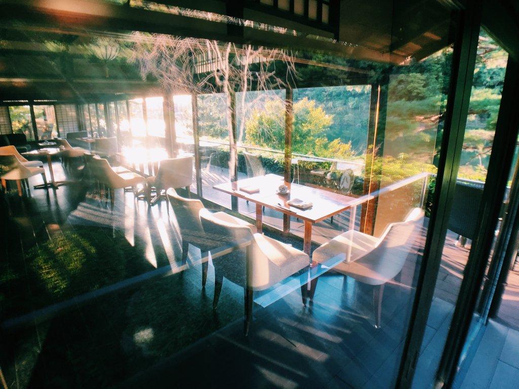 翠嵐ラグジュアリーコレクションホテル京都のシャンパンデイライト
