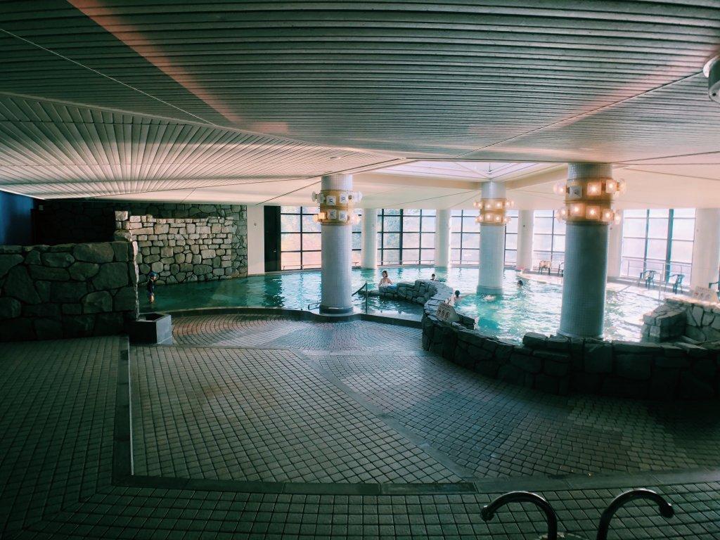 伊豆マリオットホテル修善寺の室内プール