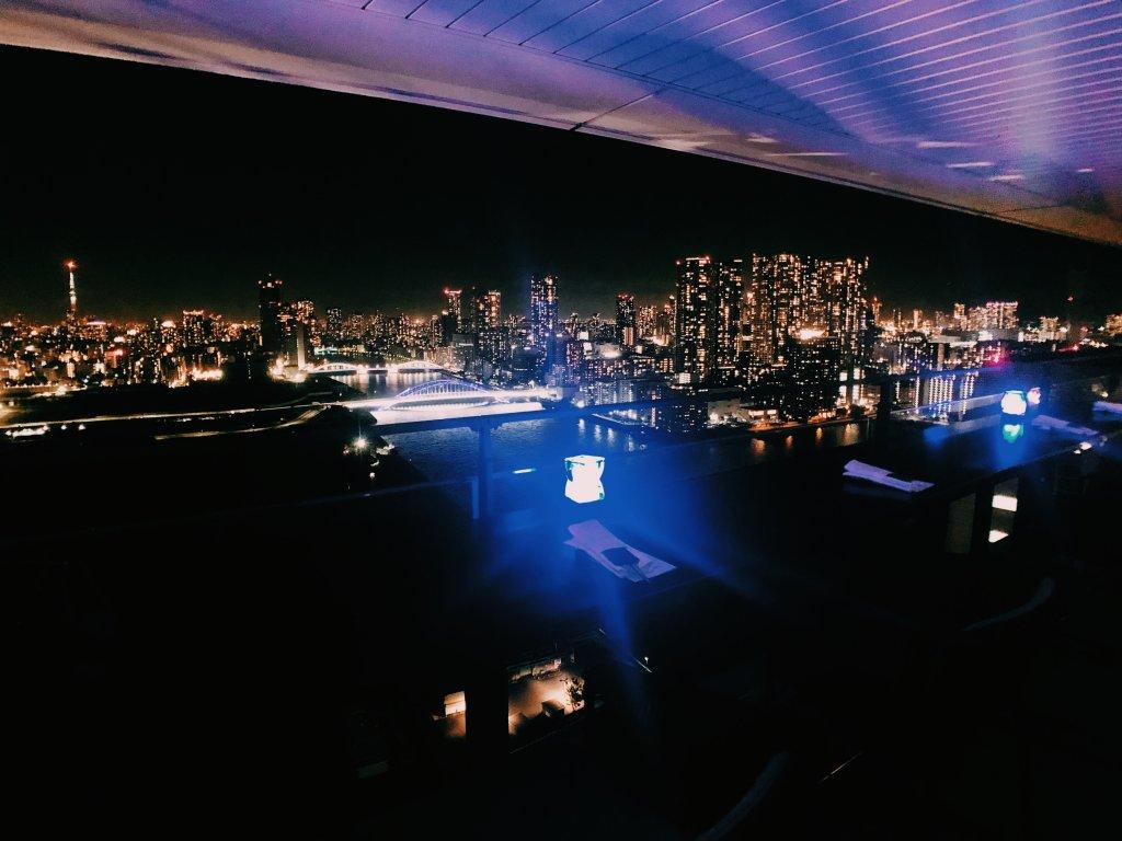 メズム東京オートグラフコレクションのクラブラウンジ