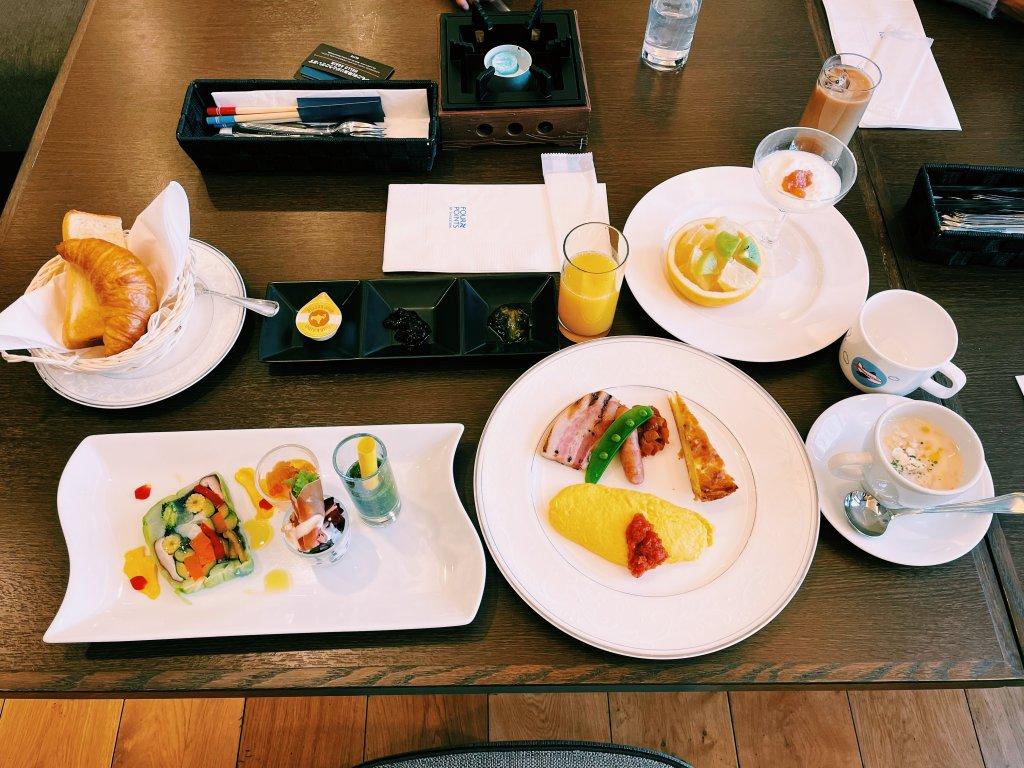 フォーポイントバイシェラトン函館の朝食