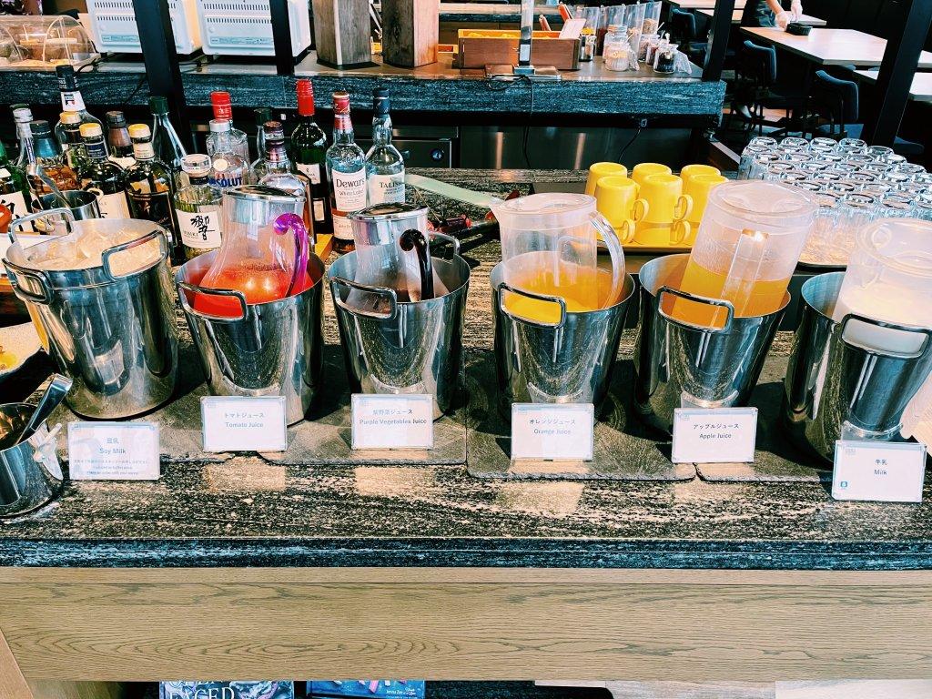 フォーポイントバイシェラトン名古屋中部国際空港の朝食