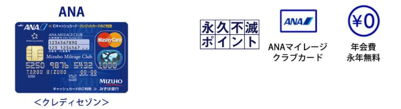 みずほマイレージ/ANA