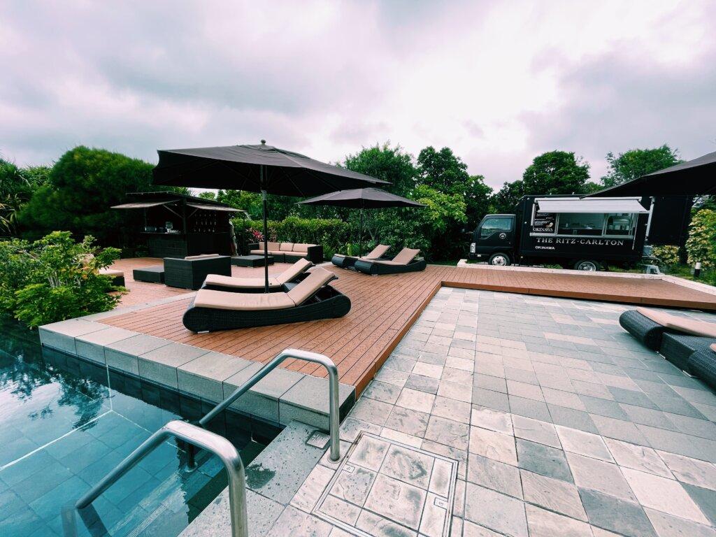 リッツカールトン沖縄プール